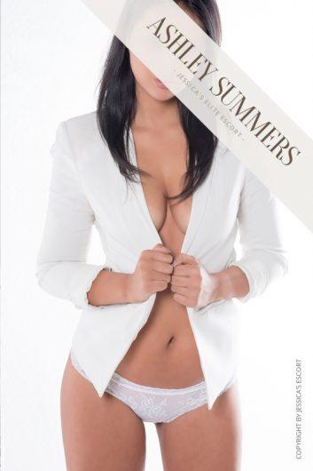 elite escort model ashley lugano