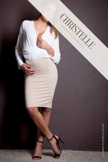 christelle first class escort model