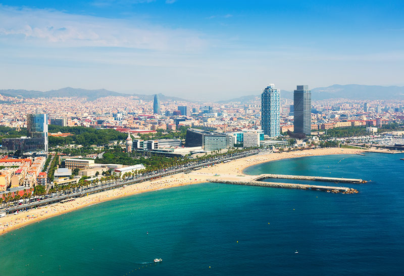 Discover Barcelona with Jessica's High Class Escort